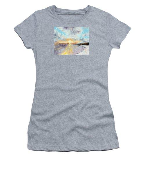 Redeemed Women's T-Shirt (Junior Cut) by Meaghan Troup