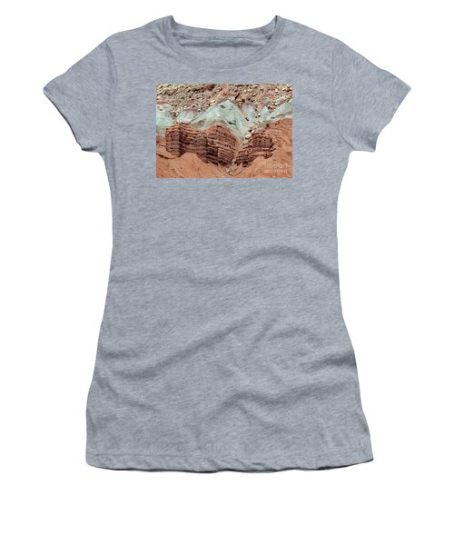 Women's T-Shirt featuring the photograph Reef Colors by PJ Boylan