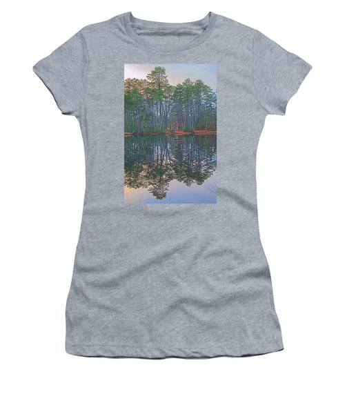 Reflections In The Pines Women's T-Shirt