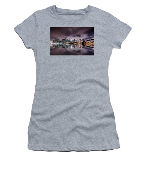 Reflector Adherence  Women's T-Shirt (Athletic Fit)