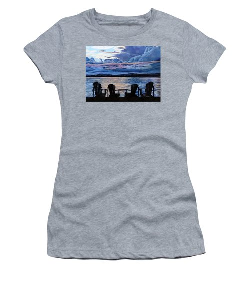Relax Women's T-Shirt (Junior Cut) by Marilyn McNish