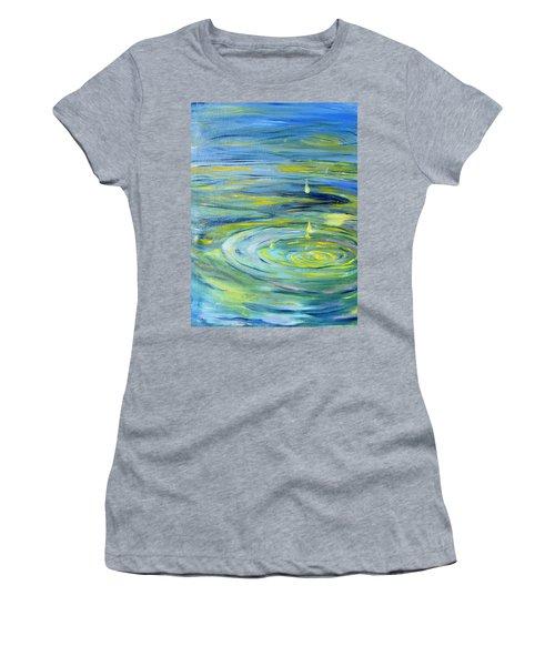 Relaxation Women's T-Shirt (Junior Cut) by Evelina Popilian