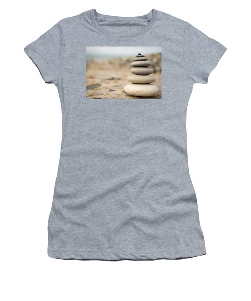 Women's T-Shirt (Junior Cut) featuring the photograph Relaxation Stones by John Williams