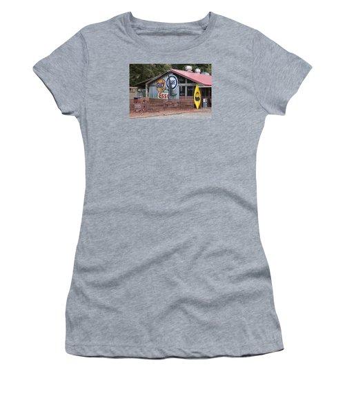 Restaurant In Murrells Inlet Women's T-Shirt (Junior Cut) by Suzanne Gaff