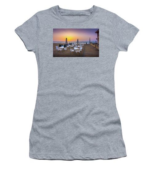 Restaurant Sunrise, Spain. Women's T-Shirt