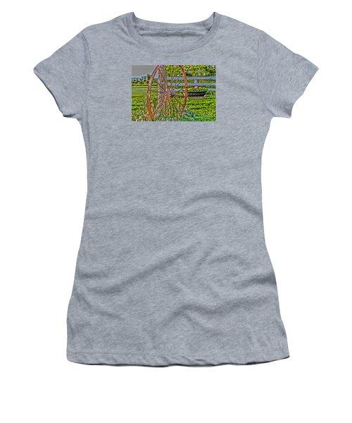 Retired Women's T-Shirt (Junior Cut) by William Norton