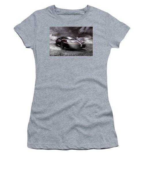 Retro Sports Car - Formule 1 Women's T-Shirt (Athletic Fit)