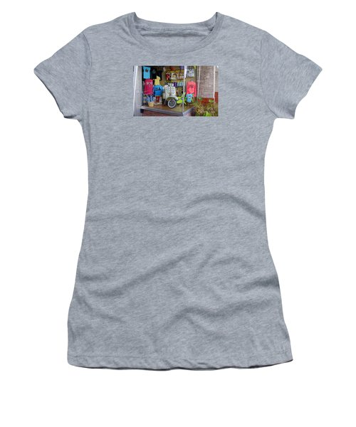Retro Storefront Women's T-Shirt (Athletic Fit)