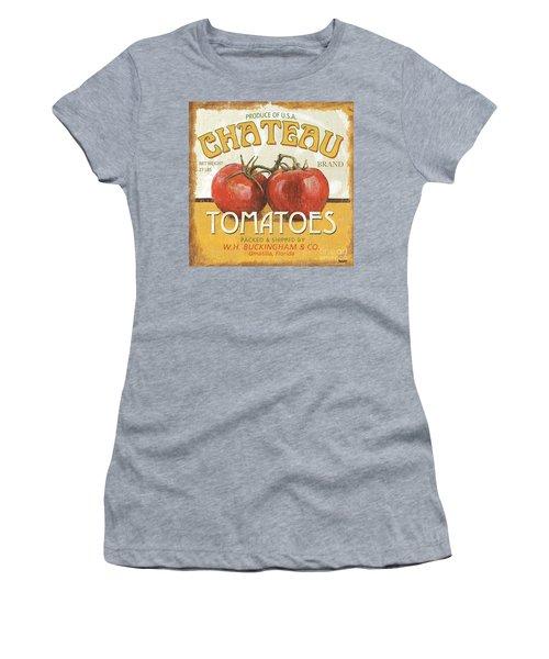 Retro Veggie Labels 4 Women's T-Shirt (Athletic Fit)