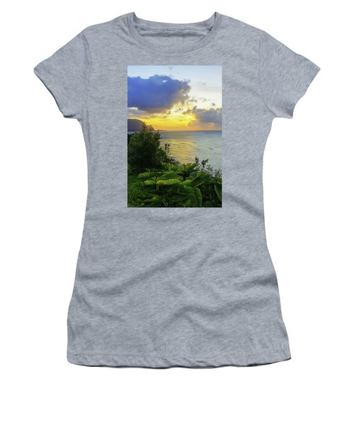 Women's T-Shirt (Junior Cut) featuring the photograph Return by Chad Dutson