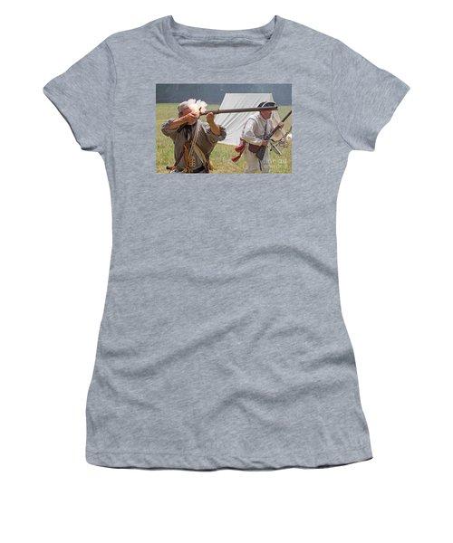 Revolutionary War Reenactment Women's T-Shirt