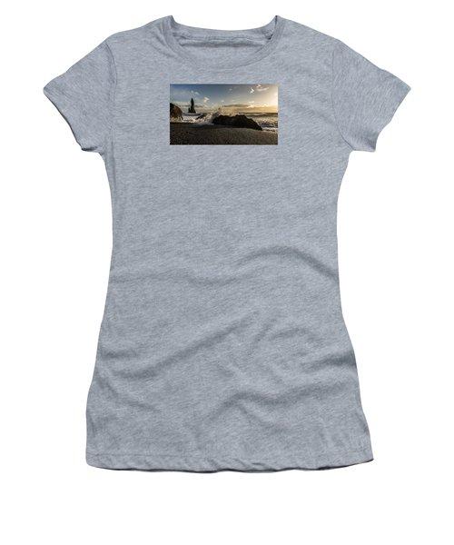 Women's T-Shirt featuring the photograph Reynisdrangar by James Billings