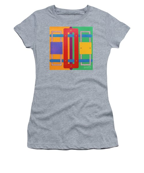 Women's T-Shirt featuring the drawing Rfb1025 by Robert F Battles