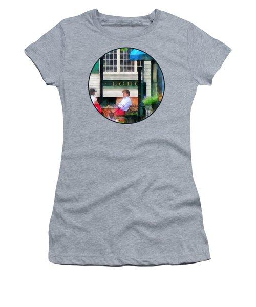 Rhode Island - Cafe Newport Ri Women's T-Shirt