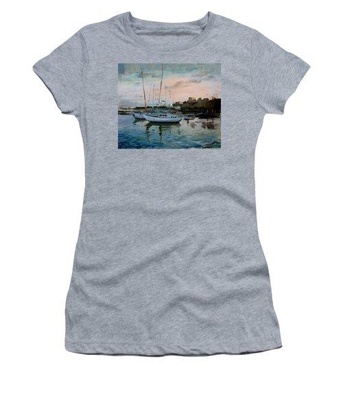 Rhodes Mandraki Harbour Women's T-Shirt