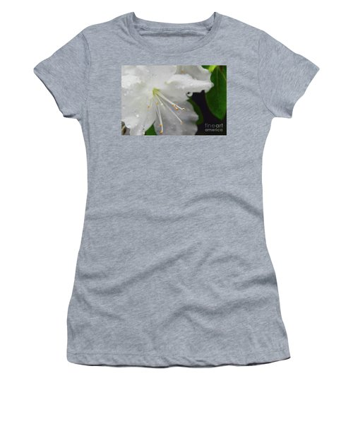 Rhododendron Blossom Women's T-Shirt (Athletic Fit)