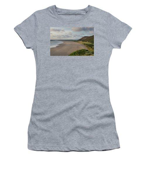 Rhossili Bay, South Wales Women's T-Shirt