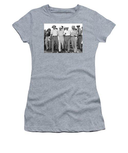 Richard Nixon Playing Golf Women's T-Shirt