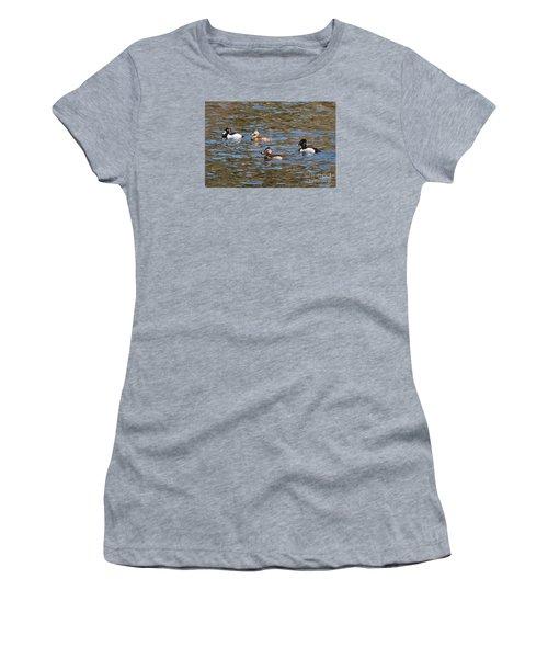 Ring Neck Ducks 20120314_d Women's T-Shirt (Athletic Fit)