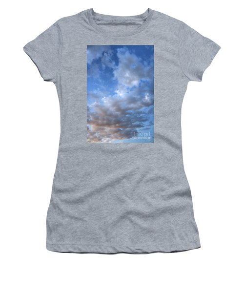 Women's T-Shirt (Junior Cut) featuring the photograph Rising Clouds by Michael Rock