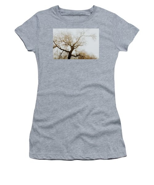 Women's T-Shirt (Junior Cut) featuring the photograph Rising by Iris Greenwell