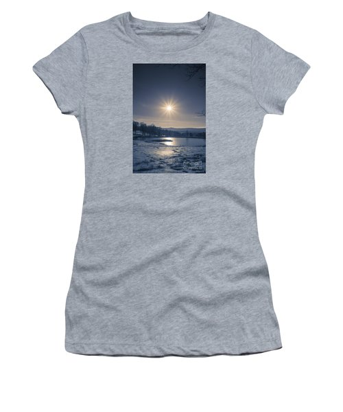Rising Sun On A Cold Winter Morning Women's T-Shirt