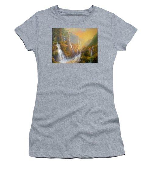 Rivendell Wisdom Of The Elves. Women's T-Shirt (Junior Cut) by Joe  Gilronan