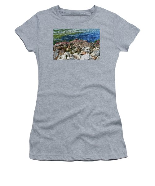 River Rocks Women's T-Shirt
