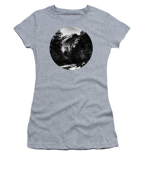 Road To Wonder, Black And White Women's T-Shirt