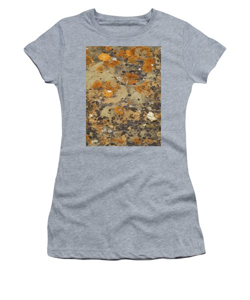 Women's T-Shirt featuring the photograph Rock Pattern by Cris Fulton