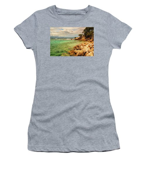 Rocky Coast Women's T-Shirt (Athletic Fit)