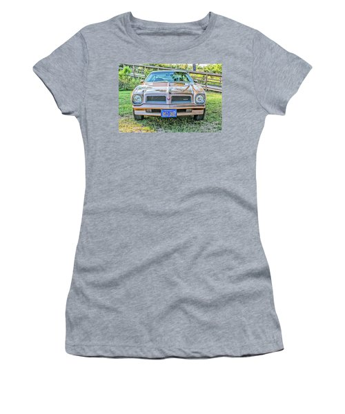 Rocky Front Center Women's T-Shirt (Athletic Fit)