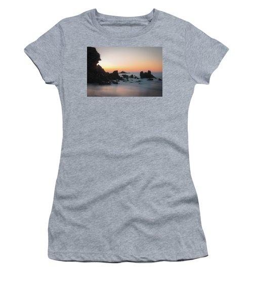 Rocky Sunrise Women's T-Shirt (Junior Cut) by Ralph Vazquez