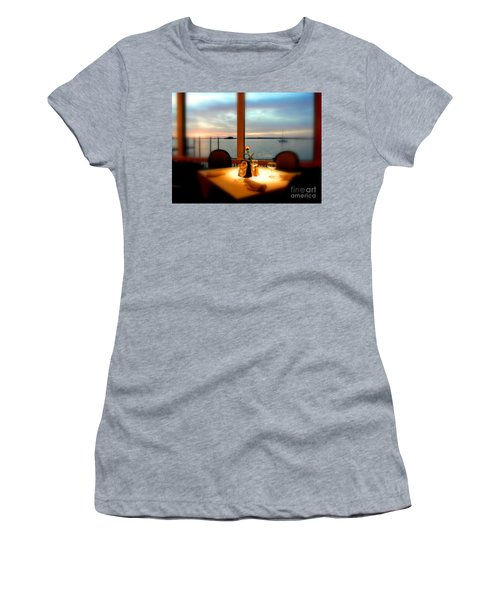 Women's T-Shirt (Junior Cut) featuring the photograph Romance by Elfriede Fulda