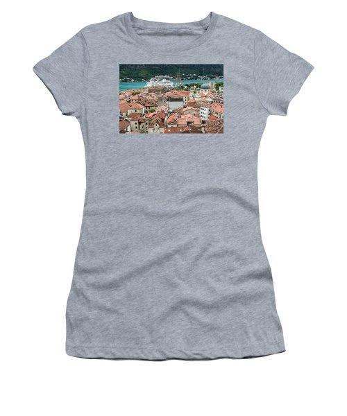 Rooftops Of Kotor  Women's T-Shirt