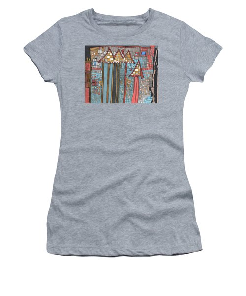 Dilapidated World Women's T-Shirt (Athletic Fit)