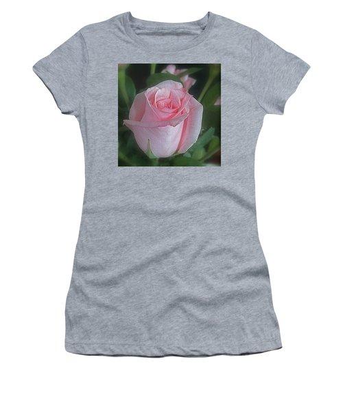 Rose Dreams Women's T-Shirt (Junior Cut) by Suzy Piatt