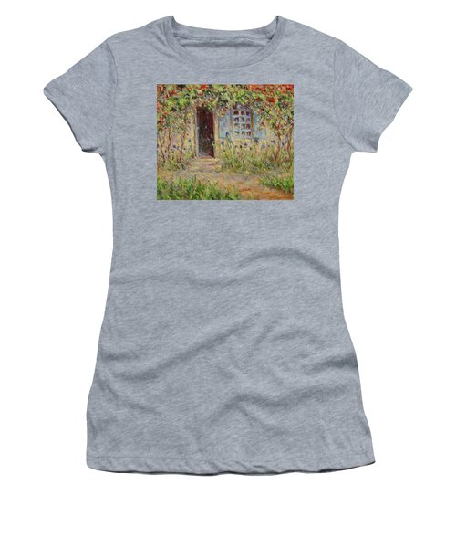Rose Trees At The Front Of The House Women's T-Shirt