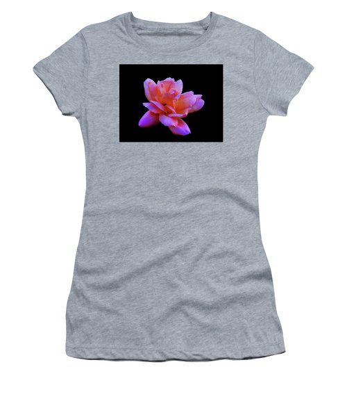 Women's T-Shirt (Athletic Fit) featuring the photograph Roseline by Mark Blauhoefer