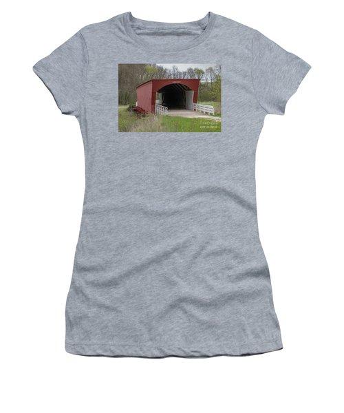 Roseman Covered Bridge - Madison County - Iowa Women's T-Shirt