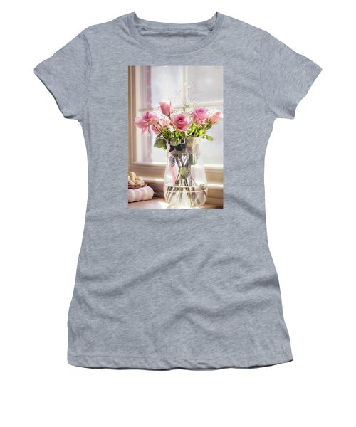 Roses In The Kitchen Women's T-Shirt (Athletic Fit)