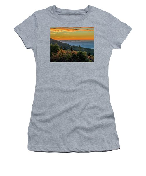 Rough Morning - Blue Ridge Parkway Sunrise Women's T-Shirt