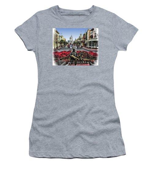 Roy And Minnie Mouse Walt Disney World Mp Women's T-Shirt