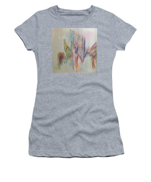 Ruffled Women's T-Shirt (Athletic Fit)