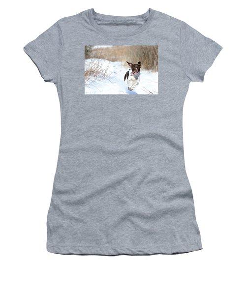 Run Millie Run Women's T-Shirt (Athletic Fit)