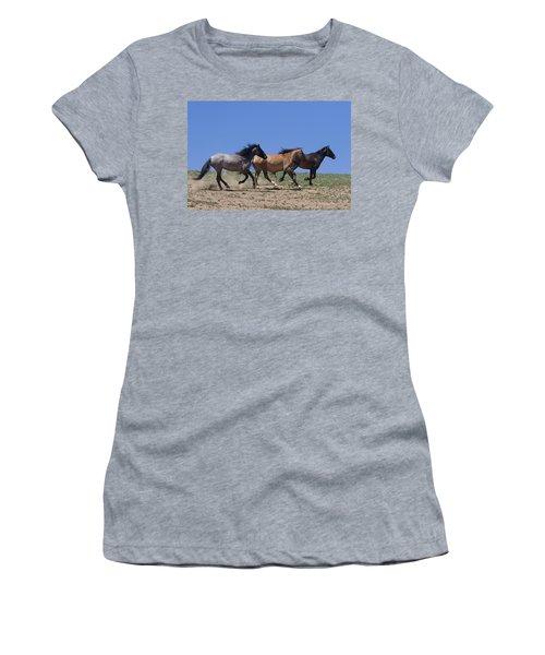 Running Free- Wild Horses Women's T-Shirt