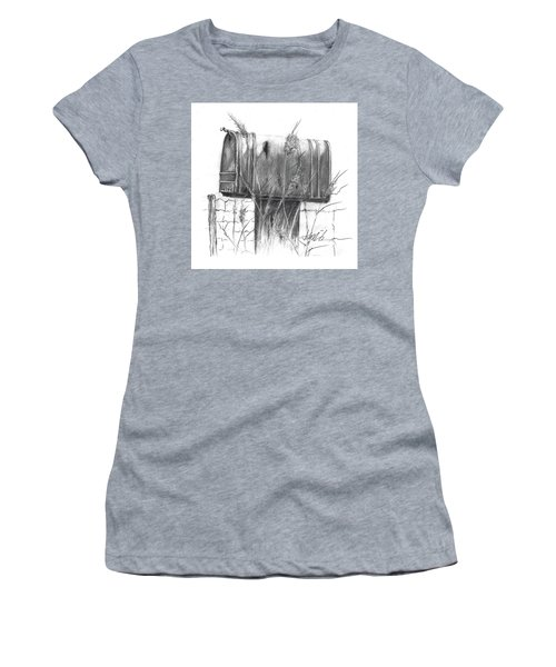 Rural Country Mailbox Women's T-Shirt (Athletic Fit)