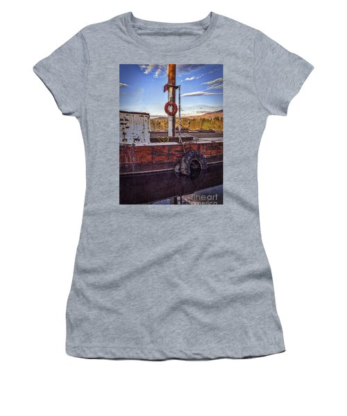 Women's T-Shirt (Junior Cut) featuring the photograph Rust Never Sleeps by Mitch Shindelbower