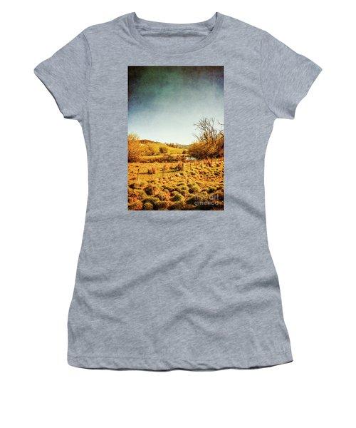 Rustic Pastoral Australia Women's T-Shirt