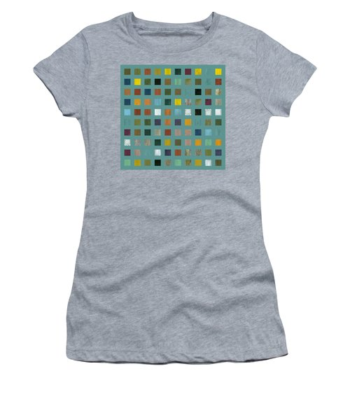 Rustic Wooden Abstract Vl Women's T-Shirt (Athletic Fit)
